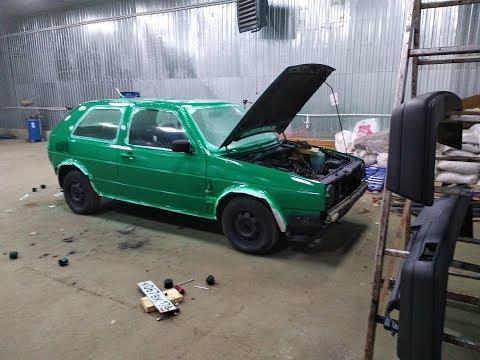 VW Golf 2 покраска за 2980 рублей
