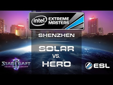 Solar vs. HerO - ZvP - Group C Decider - IEM Shenzhen - StarCraft 2