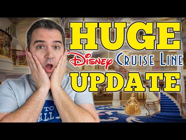 Disney Cruise HUGE News Update!