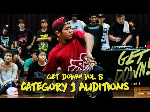 Category 1 Auditions | Get Down! Vol. 8 | RPProductions