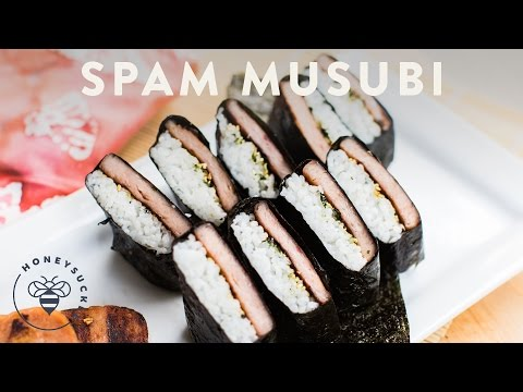 Spam Musubi with Pineapple Glaze Recipe - Honeysuckle