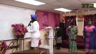 Soliest worship with Prophetess Lucy Tene, let our praise arise as incense