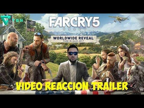 FAR CRY 5 - TRAILER - VIDEO REACCION Y DIA ORGULLO FRIKY
