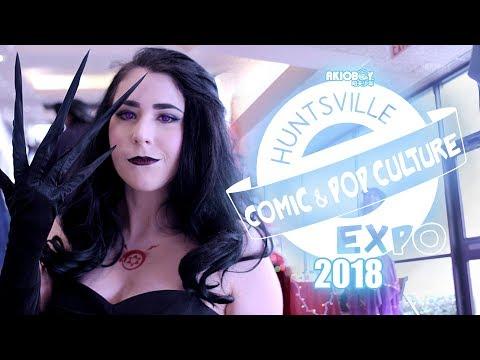 """""""Huntsville Comic & Pop Culture EXPO 2018"""""""