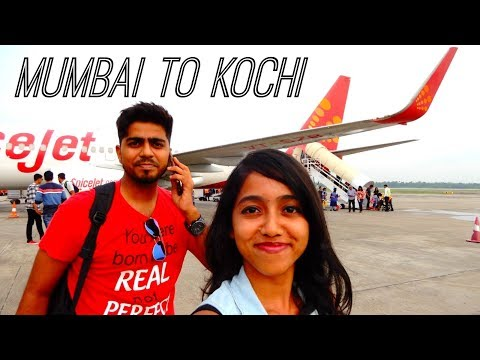 Kerala Vlog | Mumbai to Kochi | Flight Cochin International Airport