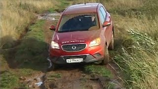 Ssangyong Kyron vs Actyon Off road 4x4 Compilation 2016