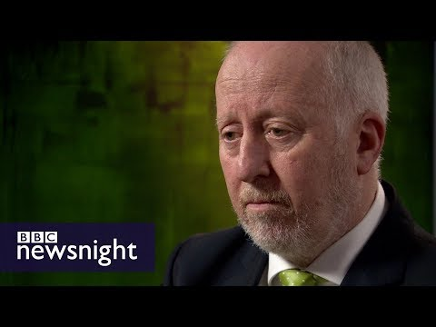 Andy McDonald MP on anti-Semitism in the Labour party - BBC Newsnight