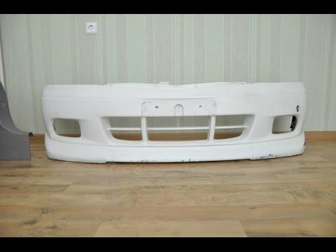 Замена переднего бампера на Mazda Demio Ford Festiva Mini Wagon