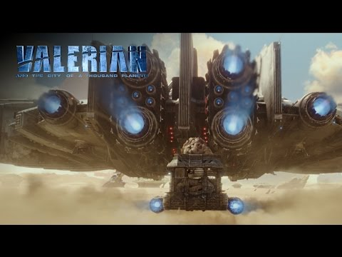 Valerian and the City of a Thousand Planets | Trailer Announcement | In Theaters July 21, 2017