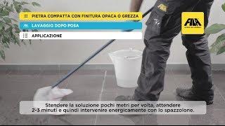 Pulizia e protezione di un pavimento in porfido   Fai da te (it)