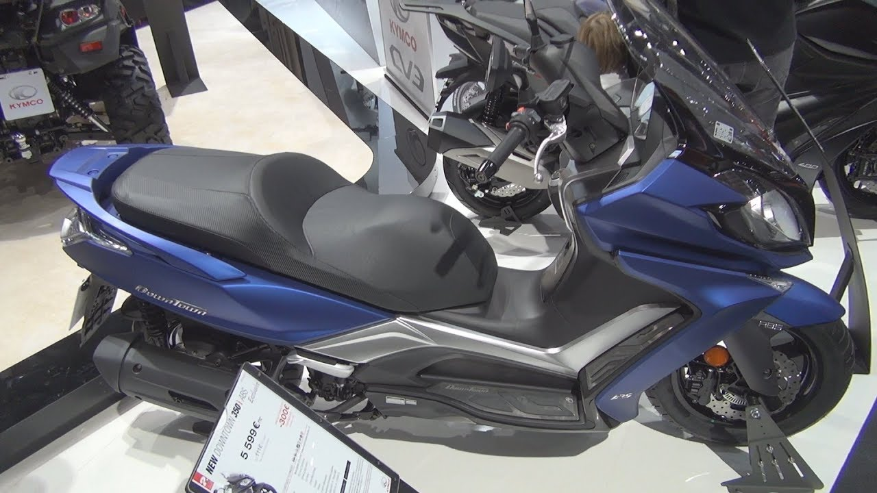 Kymco New Downtown 125i ABS (2019) Exterior and Interior by hirudov
