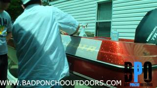 How to Install a Decal on a Bass Boat