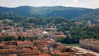 Свадебная съемка с воздуха в Италии.
