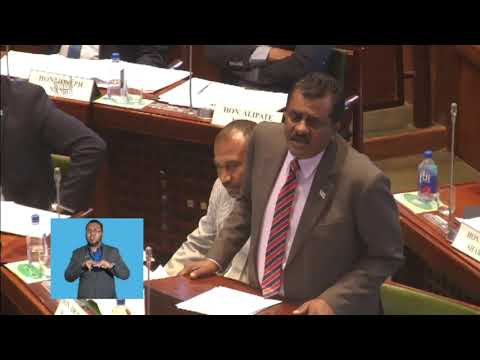 Fijian Minister for Employment delivers ministerial statement