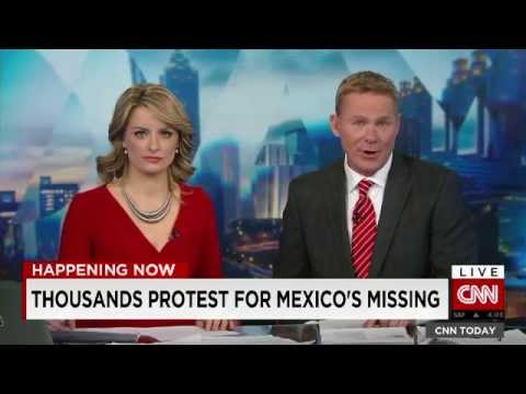CNN Today - USA Immigration reform & Mexico Riots