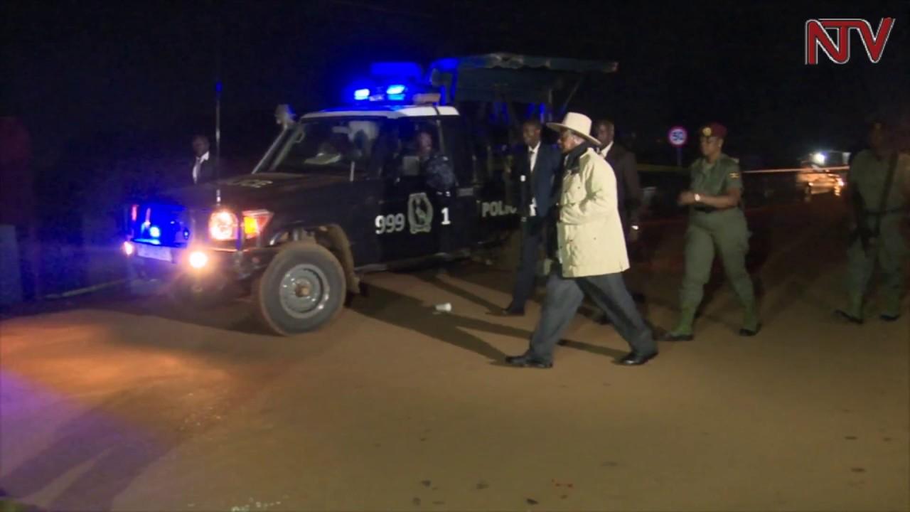 Museveni visits Kirumira's murder scene