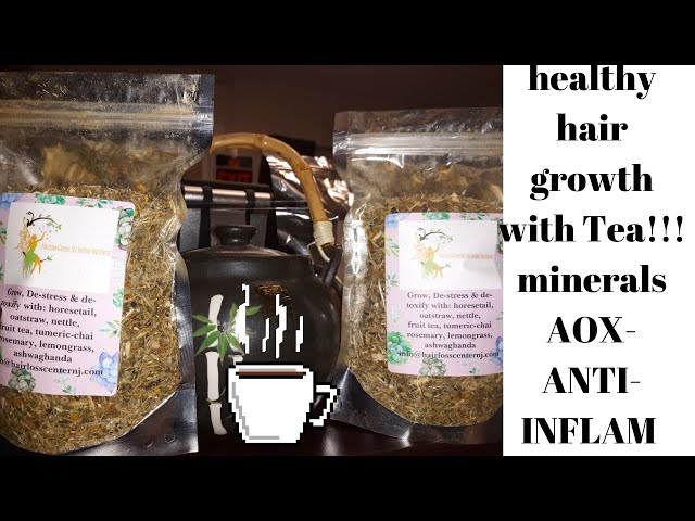 Grow hair with Herbal Tea!