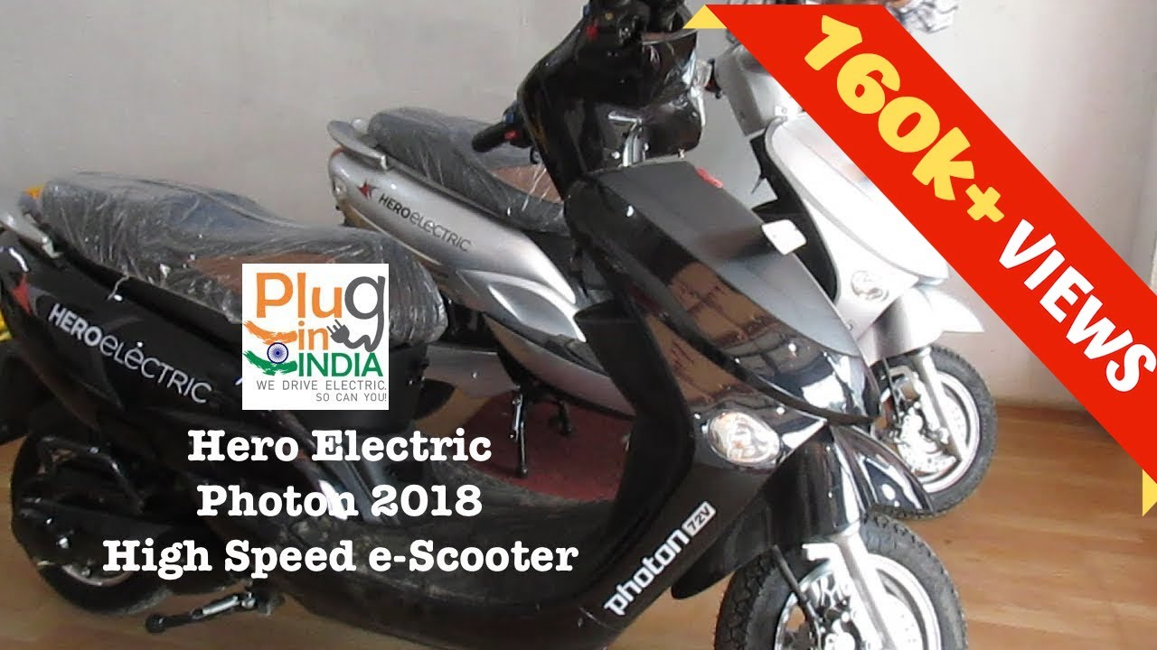 Hero Photon 2018 Electric Scooter Preview Youtube Basic Bike Wiring Schematic