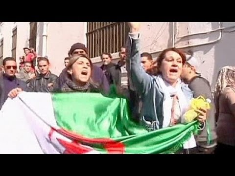 Algerian police break up protest against Abdelaziz Bouteflika - no comment