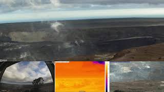 18/1/2019 - Mt Kilauea Time Lapse (MultiView)