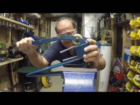 Home made threaded rod u-bolt bender- make them for penny's