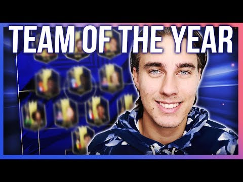 DE HÄR KOMMER VARA MED I TEAM OF THE YEAR! SJUUKT LAG! | Fifa 19 på svenska!