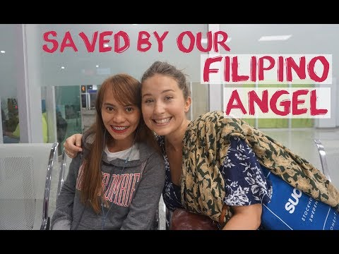 Funniest Travel Hack - Saved By A Filipino - Airline Weight Limit Hack