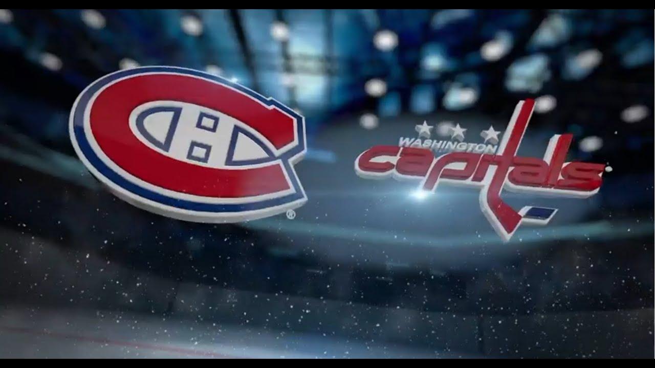 """Résultat de recherche d'images pour """"Washington Capitals vs Montréal Canadiens"""""""