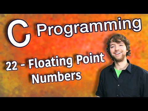 C Programming Tutorial 22 - Scientific Notation with Floating Point Numbers