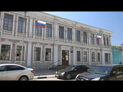 Керчь.Старое здание школы 9 - на улице Пирогова.