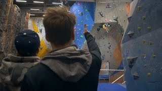Behind The Scenes Footage Of Creating A Sport Climbing Video