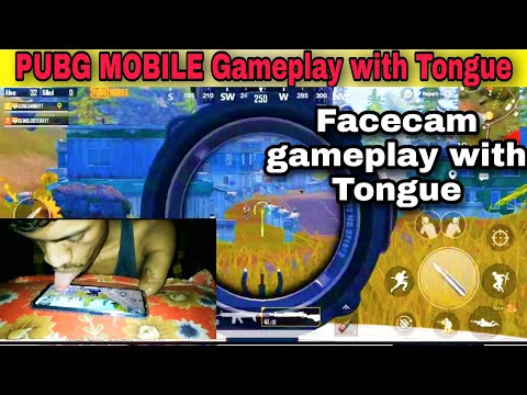 Facecam Gameplay with Tongue | Jubaan se gameplay PUBG MOBILE | PUBG MOBILE INDIA