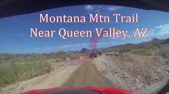 Montana Mtn Off Road Loop Trail, near Queen Valley, AZ