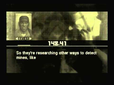 Metal Gear Solid 3 - Sigint - Mine Detector