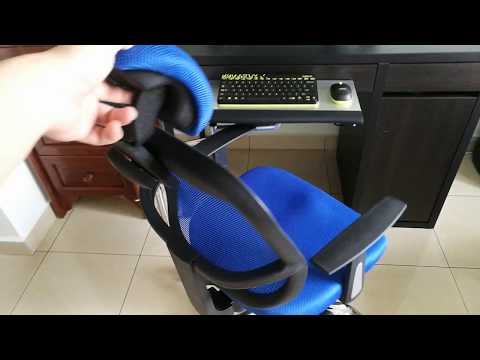 Chair Clamp Keyboard Tray