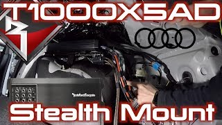 T1000X5AD Stealth Installed into an Audi A4 thumbnail