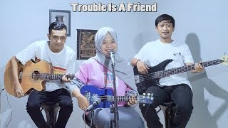 Lenka Trouble Is A Friend Cover by Ferachocolatos ft Gilang Bala