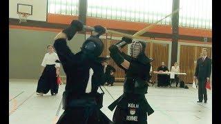Kendo Sakura Cup 2018 Recklinghausen - Halbfinale Dan - Remmel vs Lesch