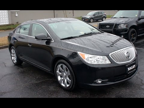 2010 Buick Lacrosse Walkaround, Start up, Tour and Overview