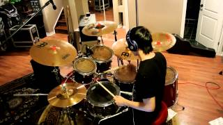 Repeat youtube video Asking Alexandria - Not The American Average - Drum Cover