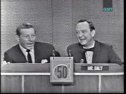 Danny Kaye's first appearance on live television.