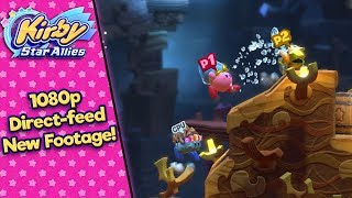 direct feed gameplay kirby star allies