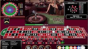 Live Roulette Tradition Casino