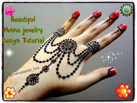 Henna Jewellery Mehndi : Easy diy: beautiful henna mehndi jewelry inspired design tutorial