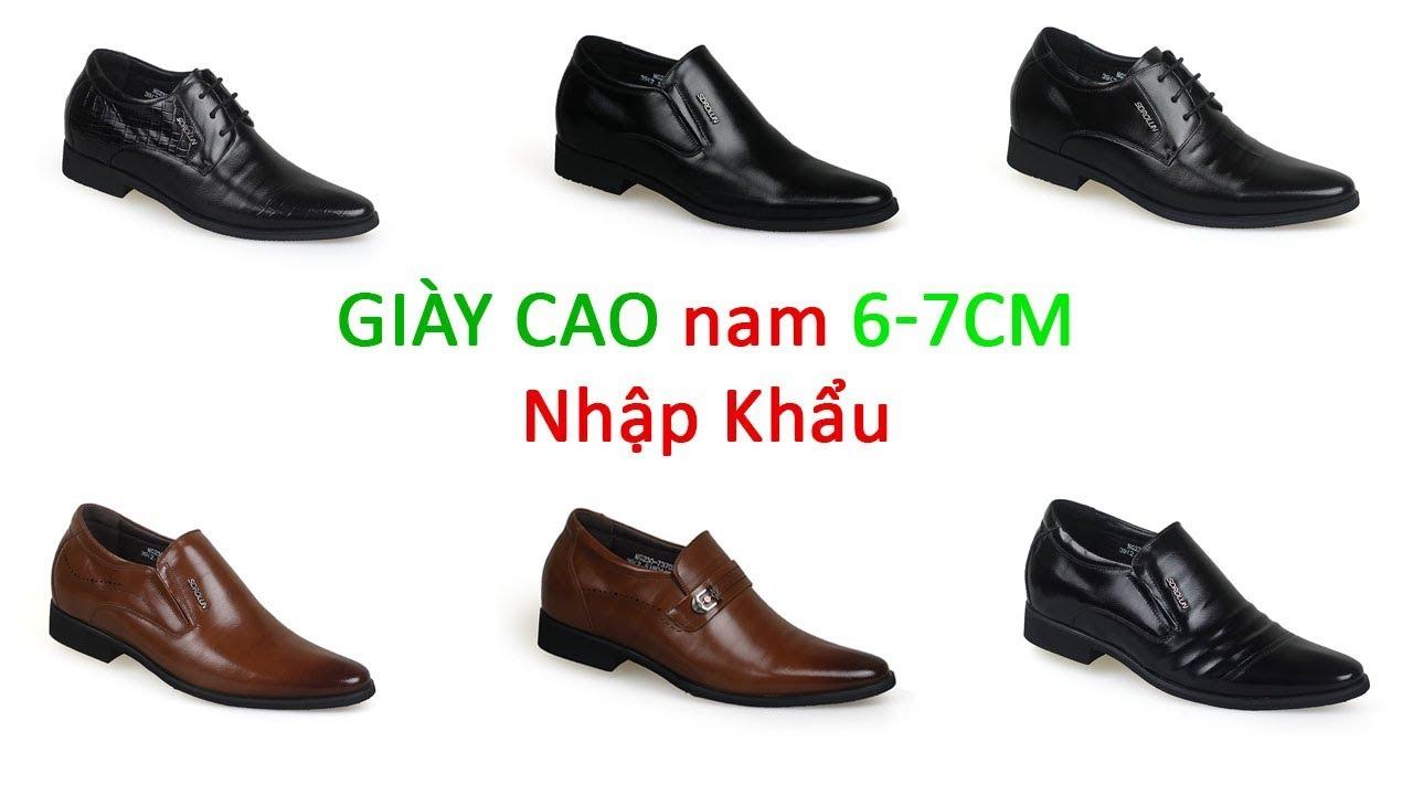 Giày cao nhập khẩu cao cấp GOG, savato, sdrolun    Giaynam.com