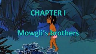 Английский язык. Маугли (часть 1). Аудиокнига с текстом и анимацией.
