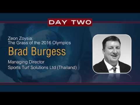 Zeon Zoysia - The Grass of the 2016 Olympics - Brad Burgess