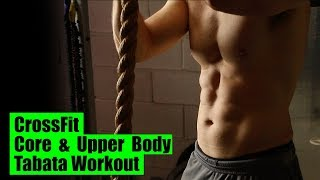 CrossFit- Core & Upper-Body Tabata Workout