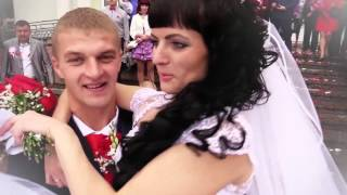 Свадьба Валентина и Ксении - Выход из ЗАГСа