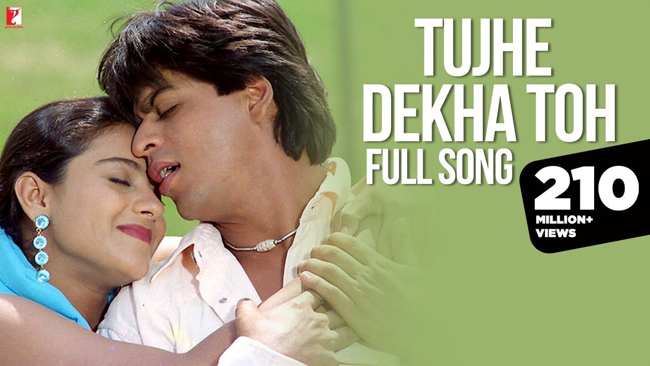 Download Tujhe Dekha Toh Song | Dilwale Dulhania Le Jayenge | Shah Rukh Khan, Kajol | Lata, Kumar Sanu | DDLJ